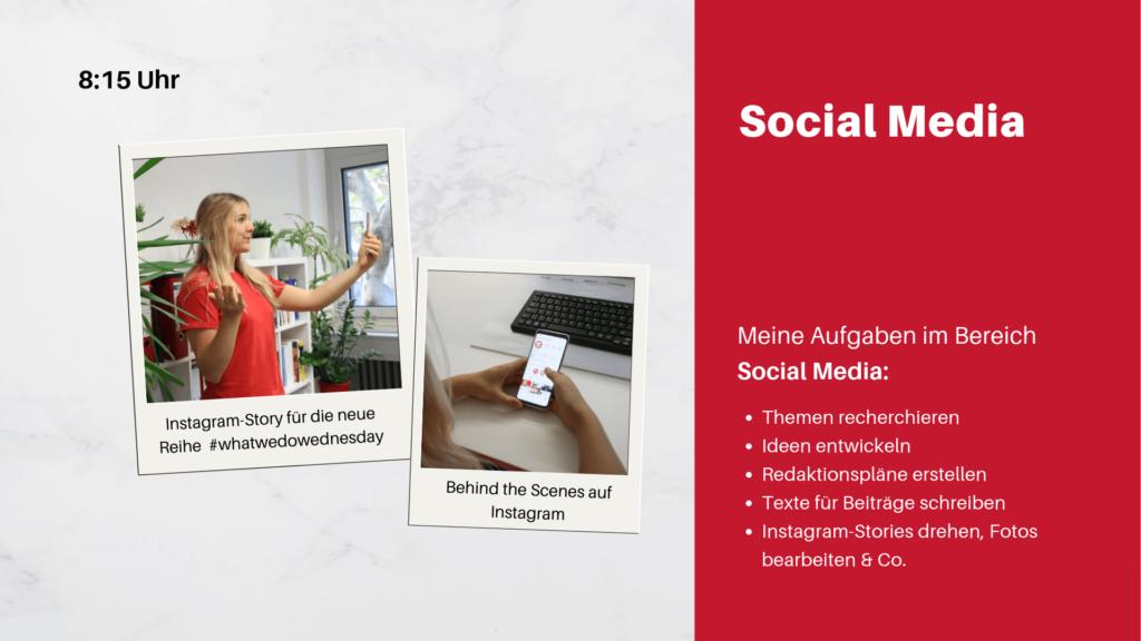 Praktikumsvorstellung- Social Media