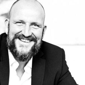 Schwarz-Weiß Portrait von Thomas Vogel