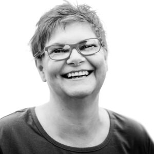 Schwarz-Weiß Portrait von Birgit Schulz