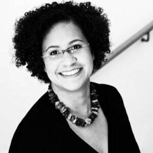 Schwarz-Weiß Portrait von Esther Roos