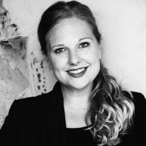Schwarz-Weiß Portrait von Ina Ruhoff