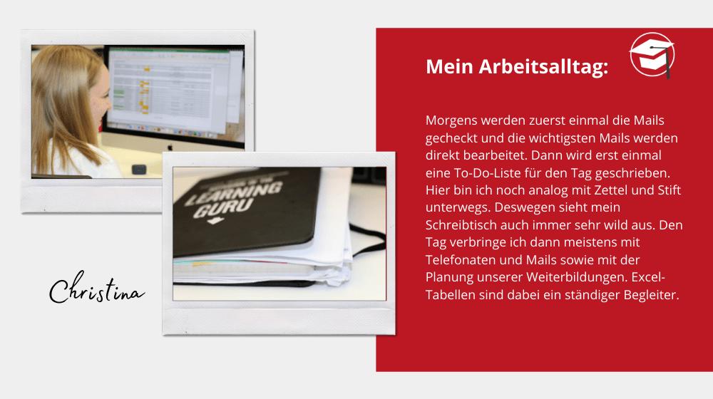Arbeitsalltag von Christina Hölscher, zwei wichtige Tools: To Do Liste und Excel Tabellen