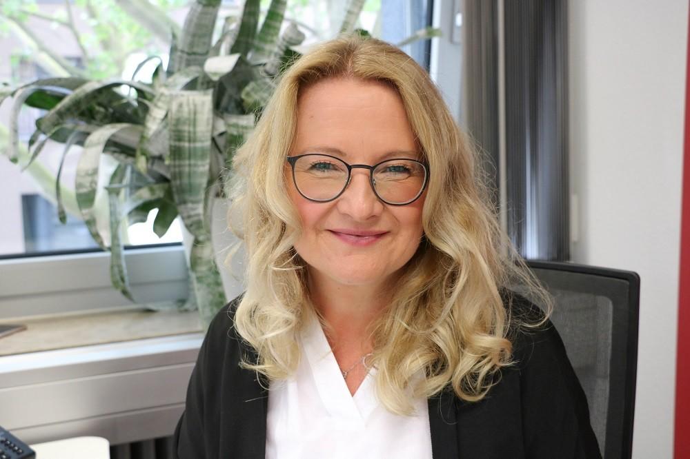 Portrait von Marie Huchthausen
