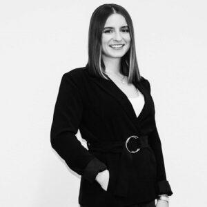 Schwarz-Weiß Portrait von Melanie Schymanietz