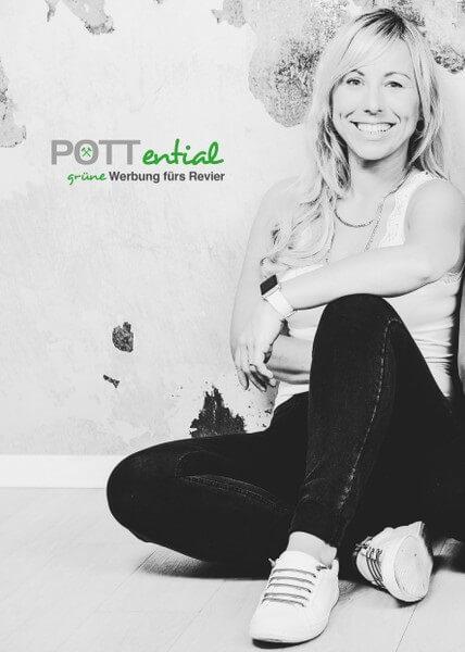 Nadine Tütell macht mit POTTential grüne Werbung fürs Revier
