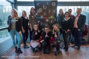 Das Team der Business Academy Ruhr auf der BARsession