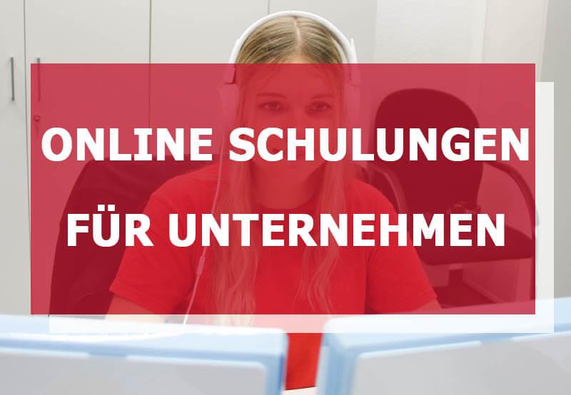 Online Schulungen für Unternehmen