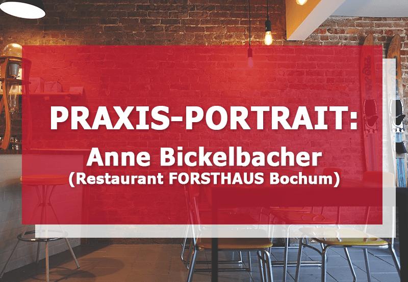 Praxis Portrait von Anne Bickelbacher