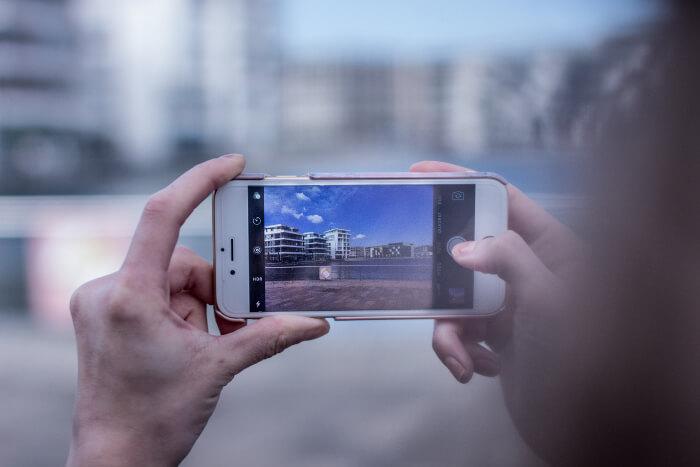 Das Smartphone ersetzt den Fotoapparat.