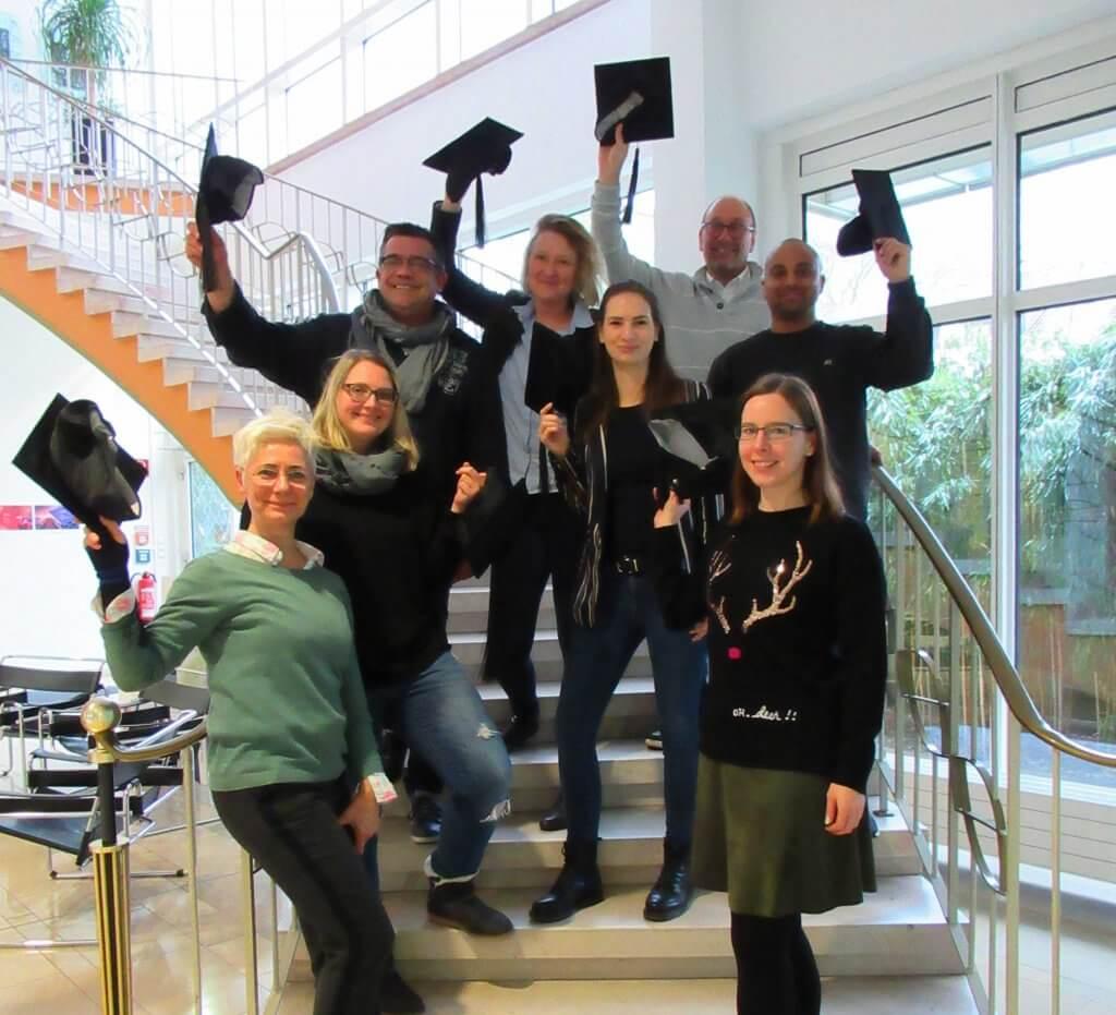 Die Absolventen der Online Redakteur (IHK) Weiterbildung in Bochum