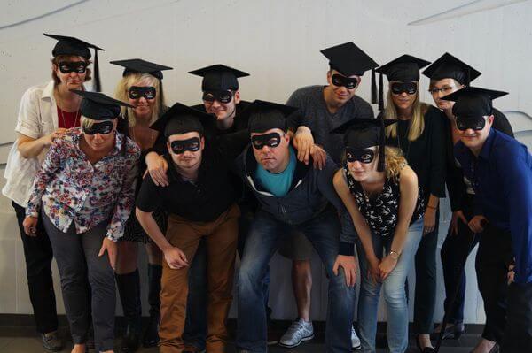 Die Absolventen des Kurses Online Redakteur (IHK)