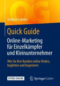 Cover Quick Guide Online-Marketing für Einzelkämpfer und Kleinunternehmer