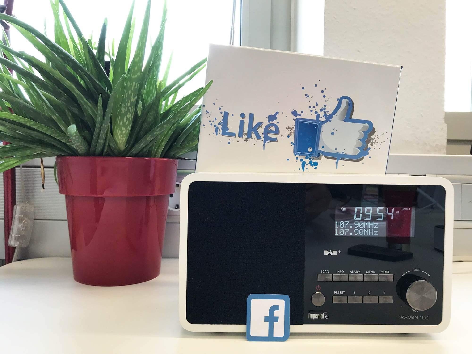 Social Media für Radiosender findet vor allem auf Facebook statt