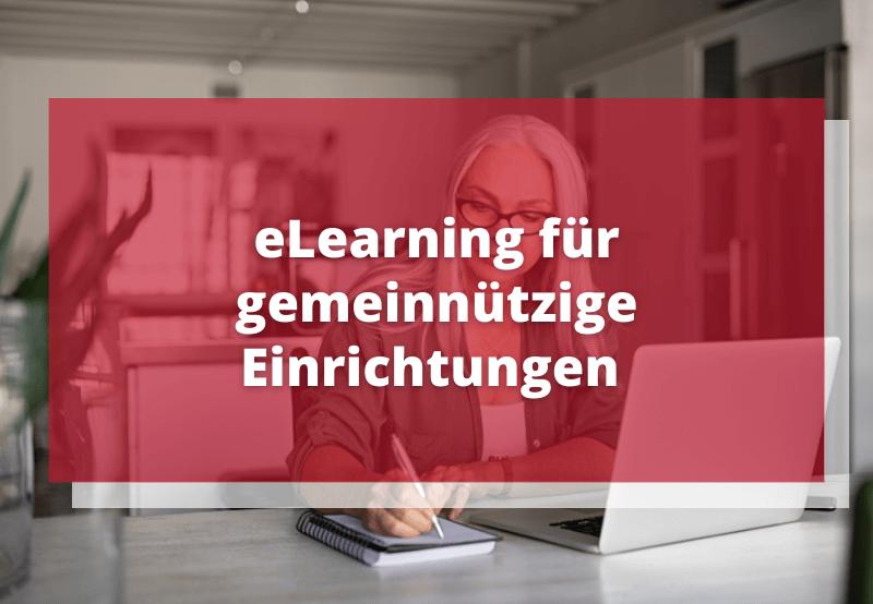 eLearning für gemeinnützige Einrichtungen