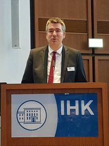Zum Thema EU Datenschutz-Grundverordnung lud W.-C. Ehrich zur IHK Dortmund ein