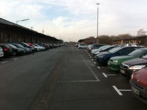 Parken in der Nähe der Business Academy Ruhr