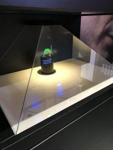 Ein Hologramm von einem Chamäleon