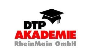 Das Logo der DTP Akademie Rhein Main IHK Offenbach