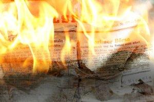 Niedergang der Zeitungen? Was machen digitale Medien mit klassischen journalistischen Inhalten?