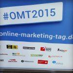 Online Marketing Tag #OMT, das Bild zeigt die Partner und Sponsoren, u.a. die Bsuiness Academy Ruhr