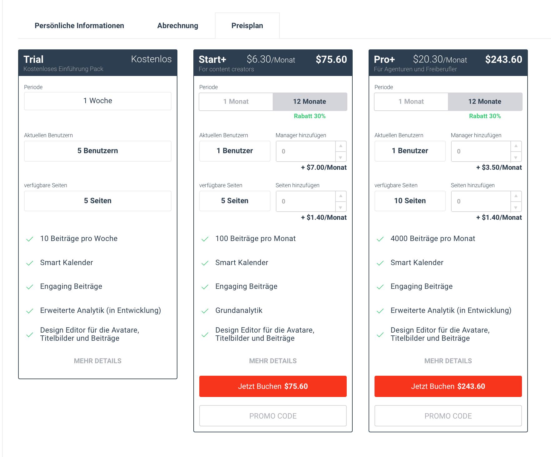 Preispakete Publbox