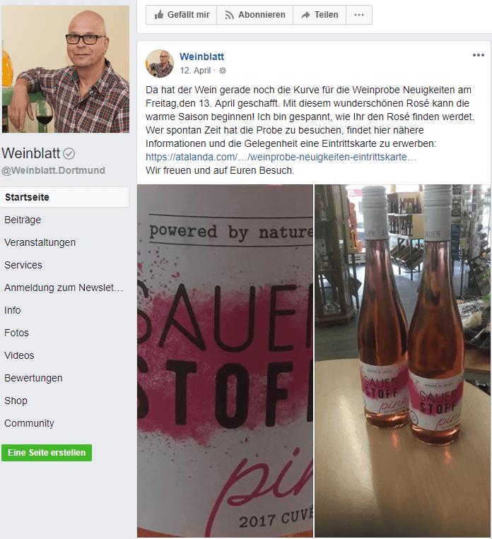Ralf Barthel lockt seine Kundschaft mit tollen Events in sein Ladenlokal.