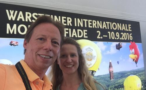 TweetUp Selfie Holger und Daniela