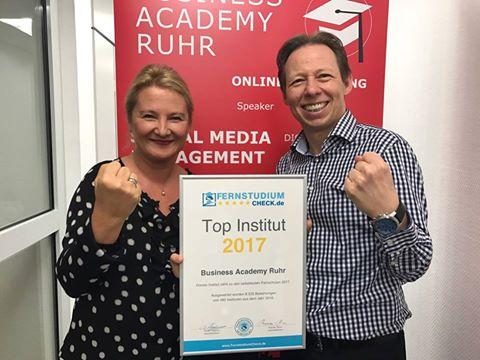 Empfehlungsmarketing: Die beiden Geschäftsführer der Business Academy Ruhr GmbH
